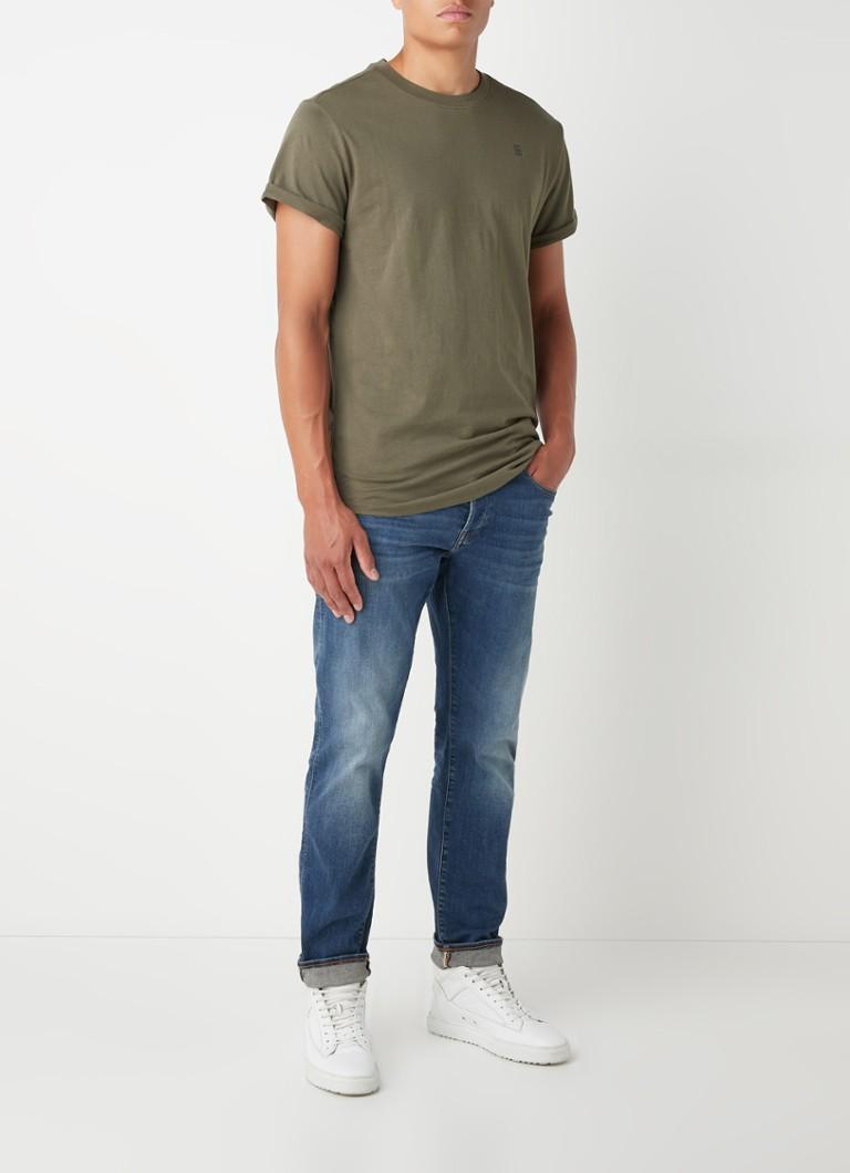 G-Star RAW Lash T-shirt van biologisch katoen met logo