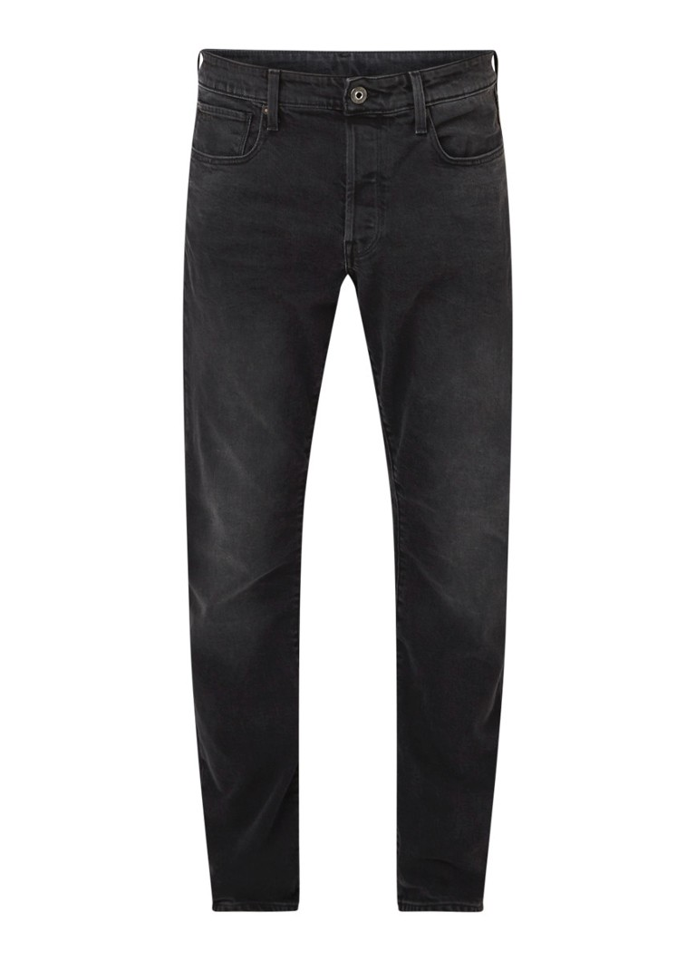 G-Star Raw 3301 Straight fit jeans met stretch