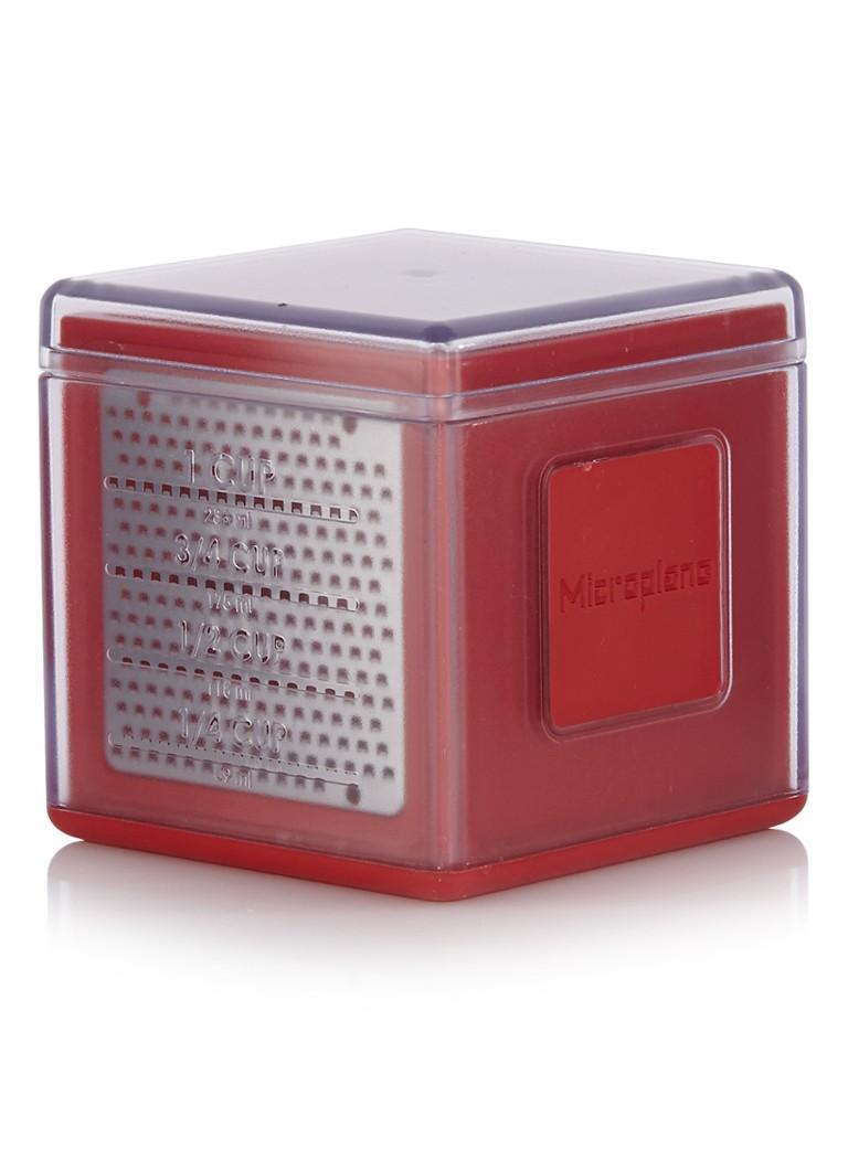Microplane Rasp Kubus rood