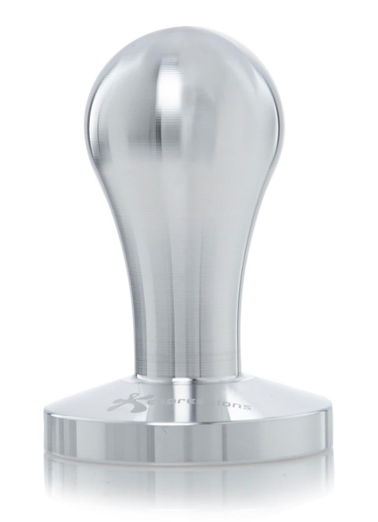 Espressions Koffie tamper van aluminium 6 cm