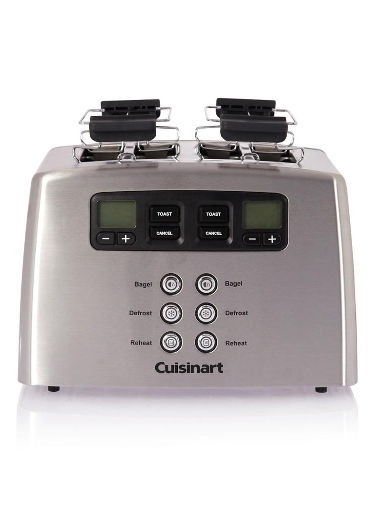 Cuisinart Broodrooster met 4 elektronisch bedienbare sleuven. CPT440E