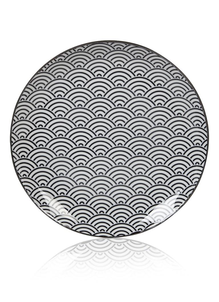 Tokyo Design Studio Nippon Black dinerbord 26 cm