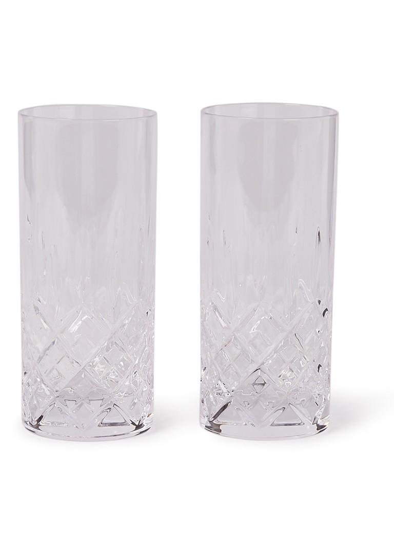 Royal Doulton Highclere Hi-Ball longdrinkglas 32 cl set van 2