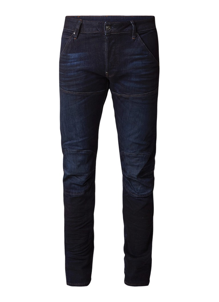 G-Star RAW 5620 Elwood low rise tapered fit jeans met stretch