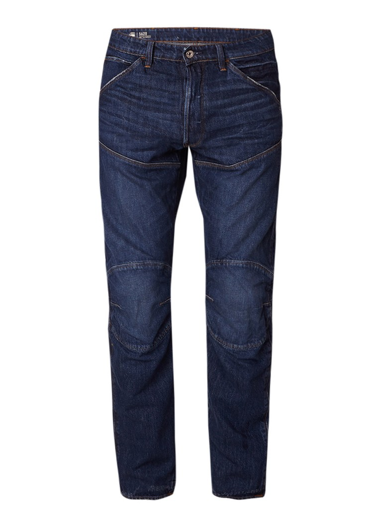 G-Star RAW 5620 3D medium rise tapered fit jeans