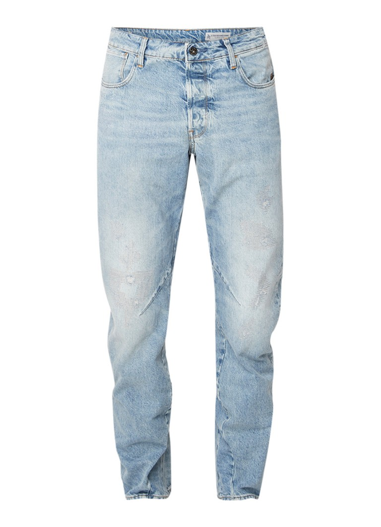 G-Star RAW Arc 3D mid rise relaxed tapered fit jeans