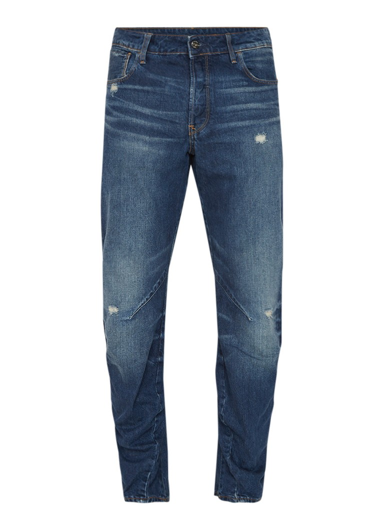 G-Star RAW Arc 3D relaxed fit jeans met destroyed look