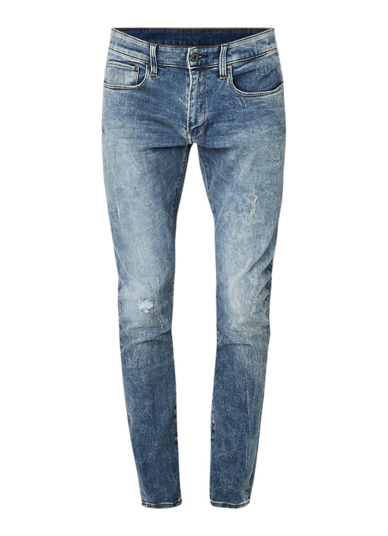 G-Star RAW 3301 Deconstructed mid rise skinny fit jeans