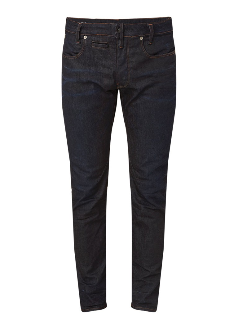 G-Star RAW D-Staq slim fit jeans met coating
