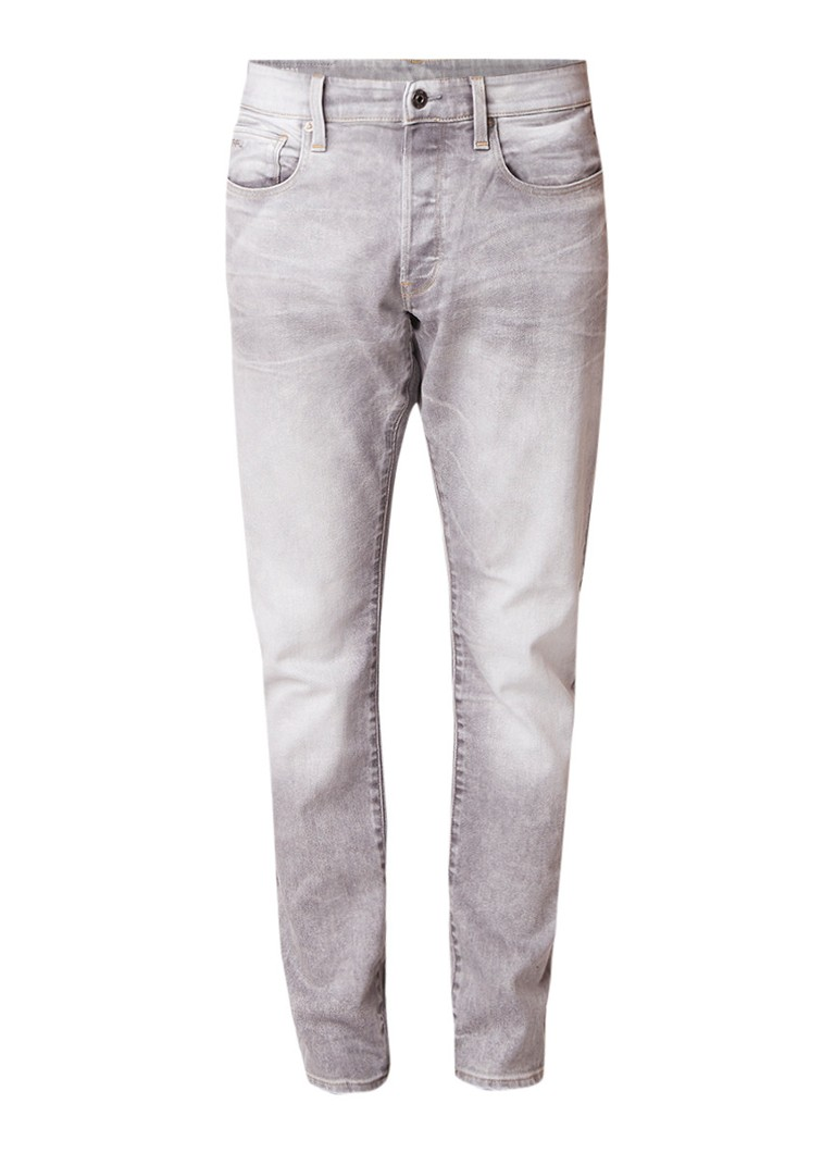G-Star RAW 3301 high rise tapered fit jeans met faded look