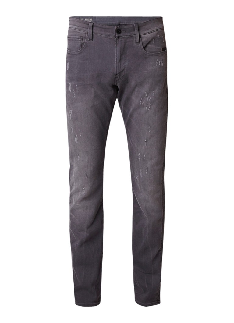 G-Star RAW Revend low rise super slim fit jeans met destroyed detail