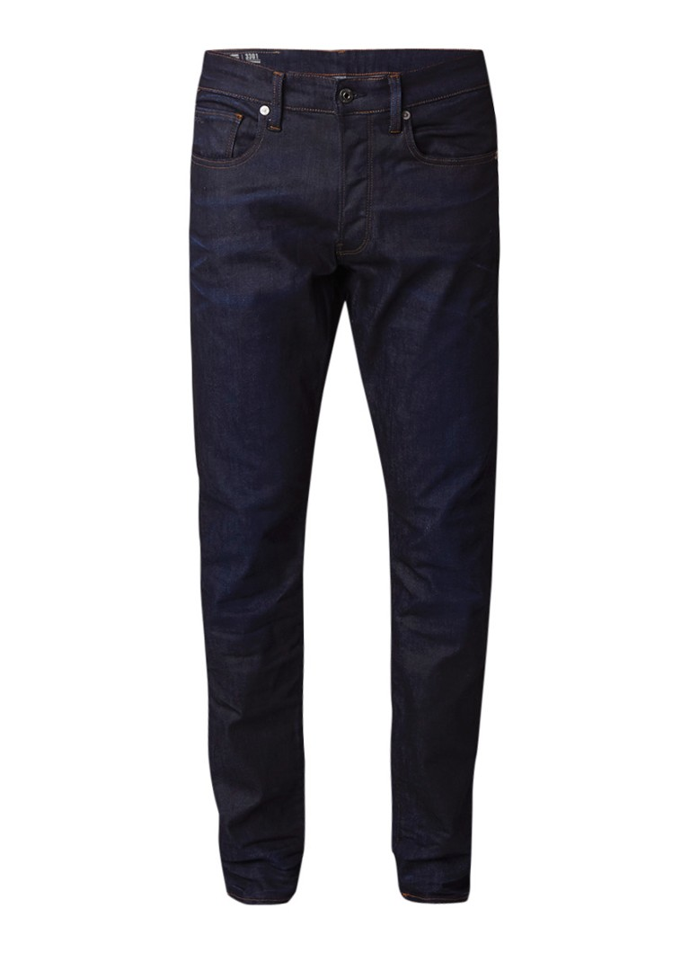 G-Star RAW 3301 High rise slim fit jeans met stretch