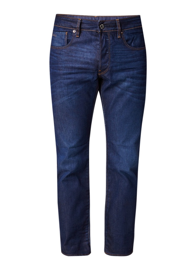 G-Star Raw 3301 Hydrite mid rise straight fit jeans