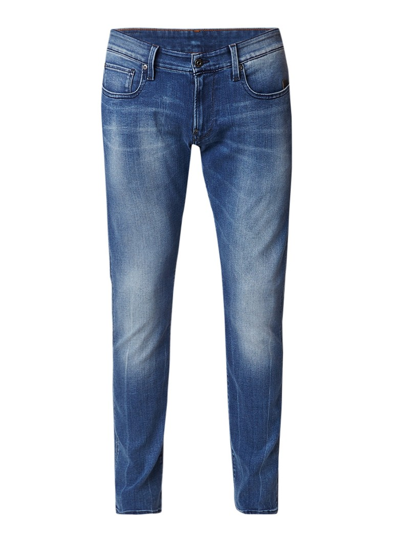 G-Star RAW Revend super slim jeans met washed look