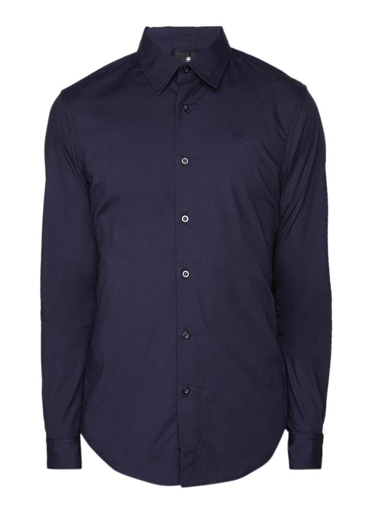 G-Star RAW Core slim fit overhemd met stretch