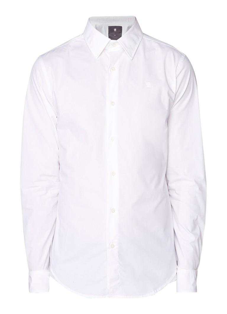 G-Star RAW Super slim fit overhemd van stretchkatoen