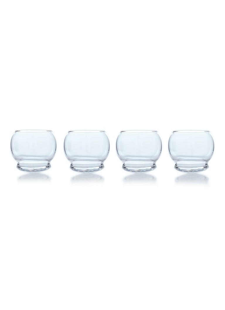 Normann Copenhagen Rocking glas 30 cl set van 4