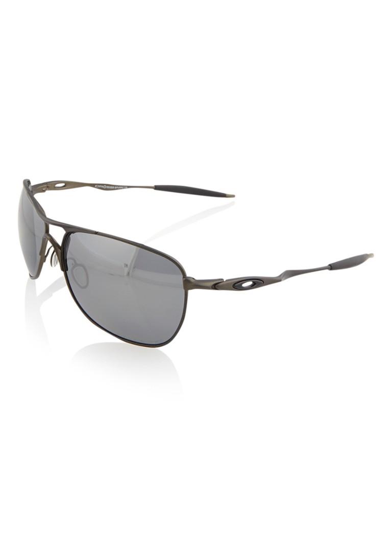 Oakley Herenzonnebril Crosshair Pweter met gepolariseerde glazen OO6014