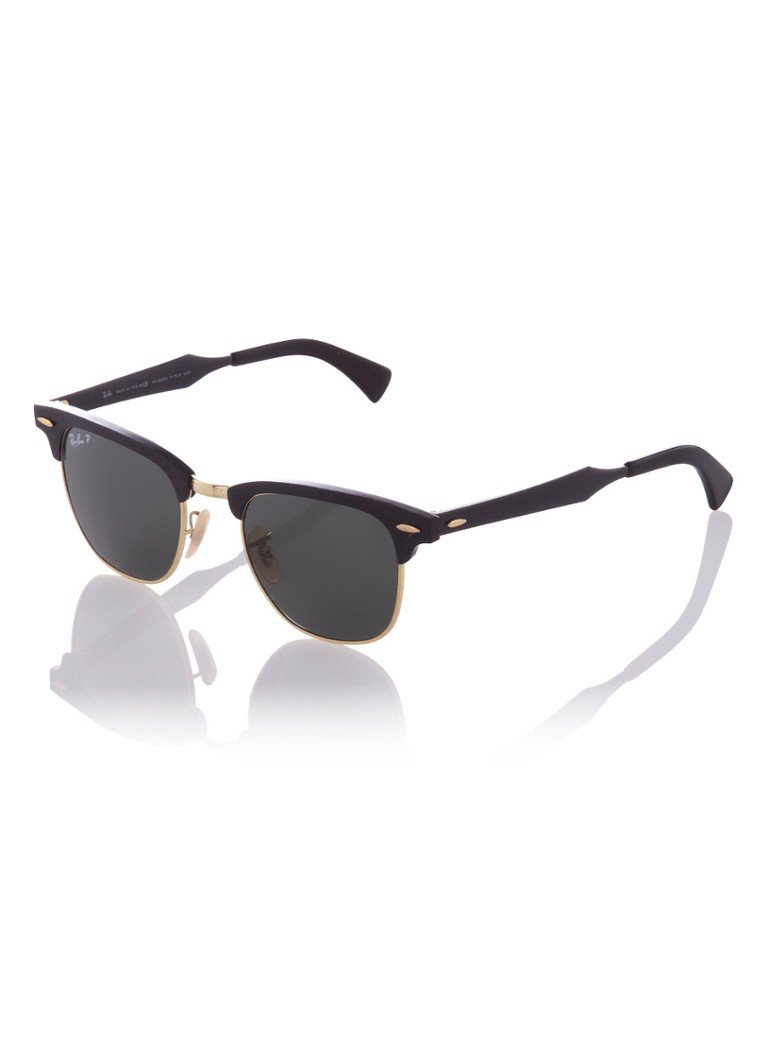 Ray-Ban Unisex Zonnebril Clubmaster Aluminum RB3507