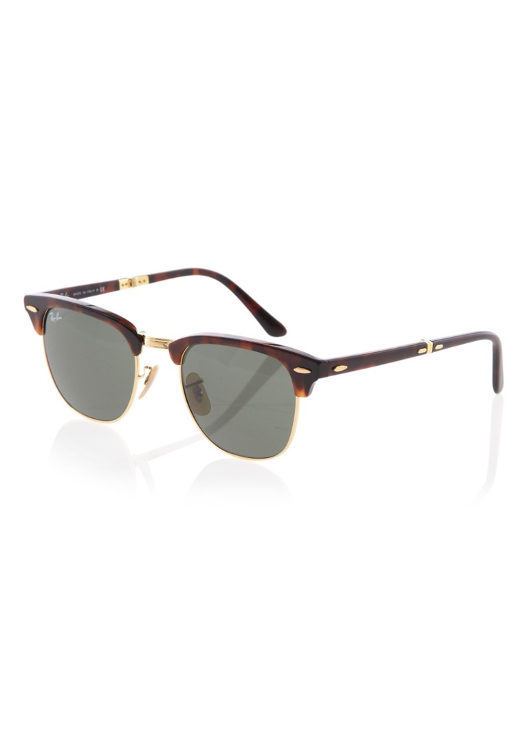 Ray-Ban Unisex Zonnebril Clubmaster Folding RB2176