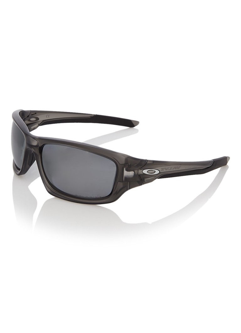 Oakley Valve Grey Smoke/Black Iridium Polarized