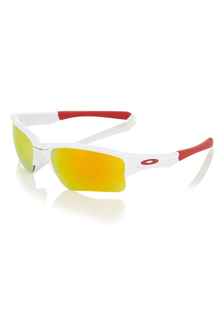 Oakley Quarter Jacket - Zonnebril - Polished White - Fire Iridium