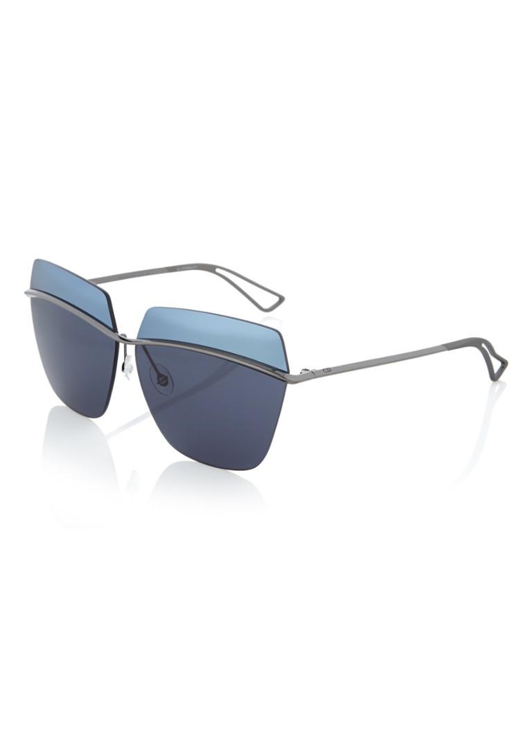 DIOR Dameszonnebril Dior Metallic blauw