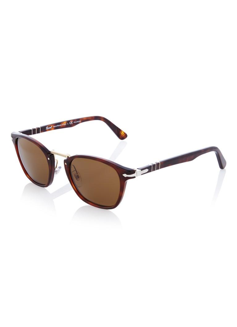 Persol Unisex zonnebril PO3110S met gepolariseerde glazen