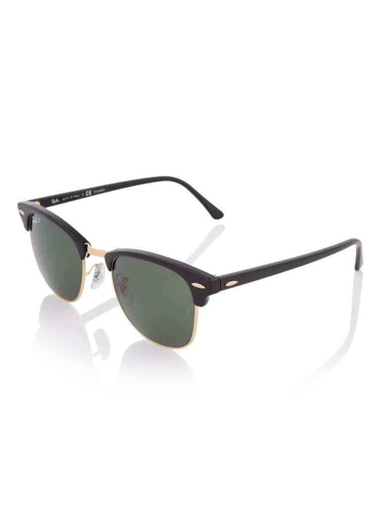 Clubmaster zonnebril gepolariseerd RB3016 51