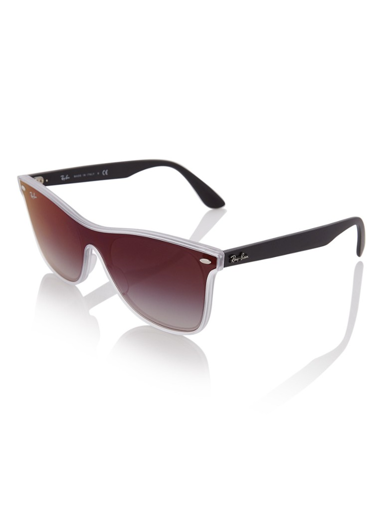Ray-Ban Blaze Wayfarer zonnebril RB4440N
