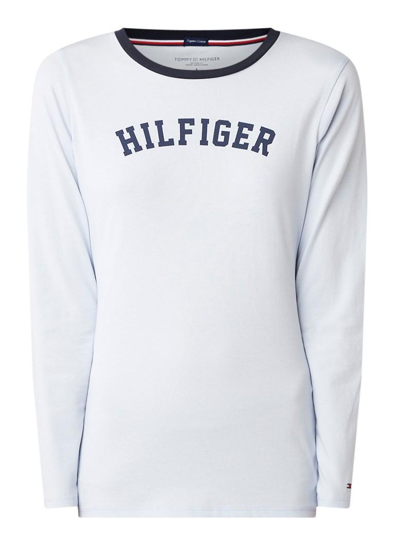 Tommy Hilfiger Pyjamatop met logoprint