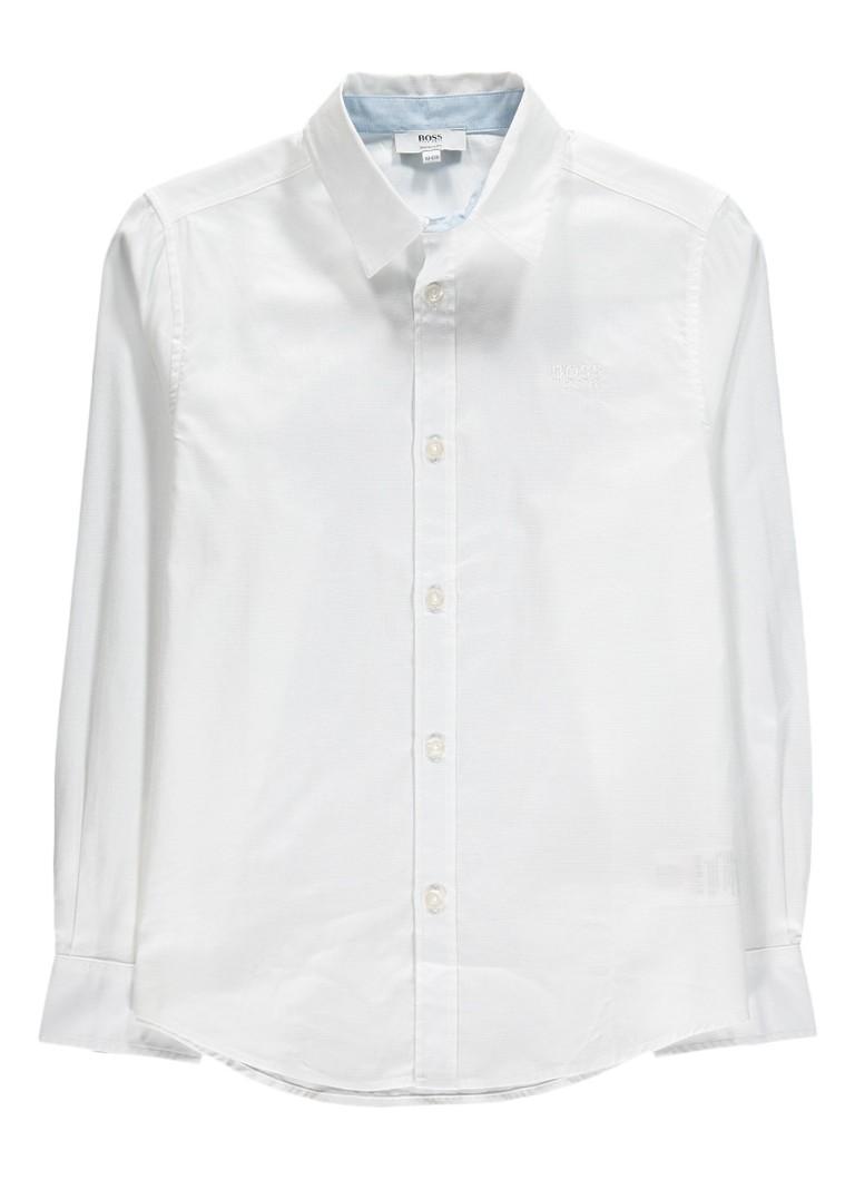 HUGO BOSS Regular fit overhemd in uni