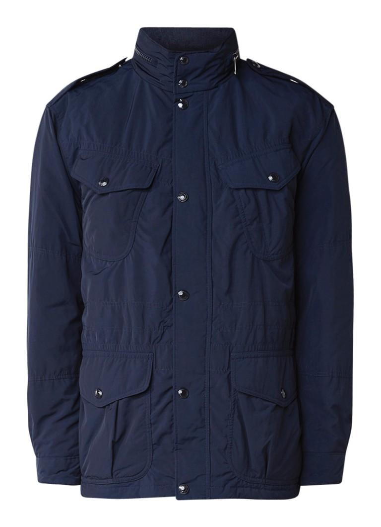 Ralph Lauren Field jacket met donsvoering en verborgen capuchon