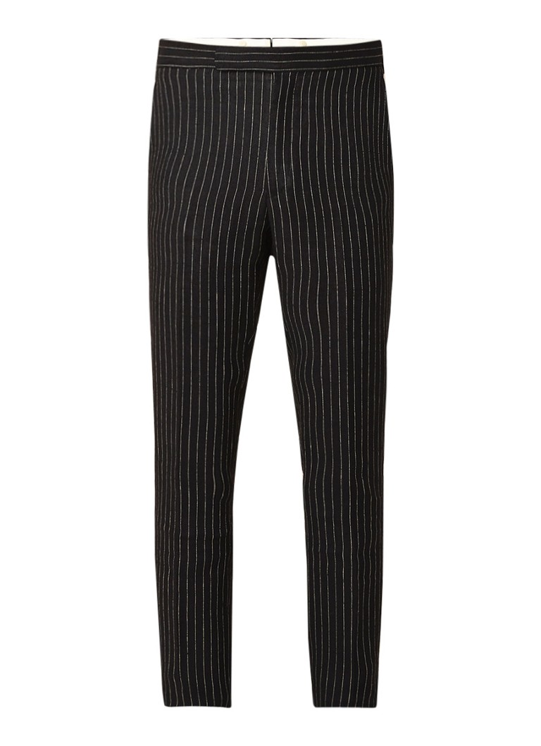 Ralph Lauren Straight fit pantalon met krijtstreep