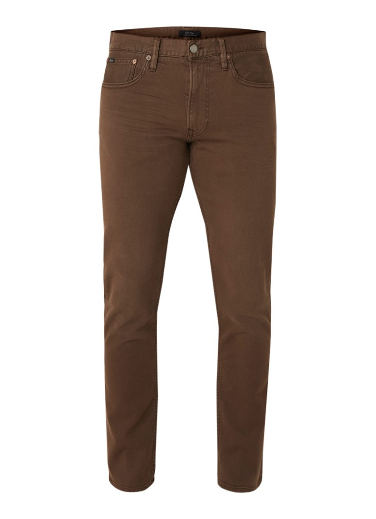 Ralph Lauren Slim fit jeans met stretch en gekleurde wassing