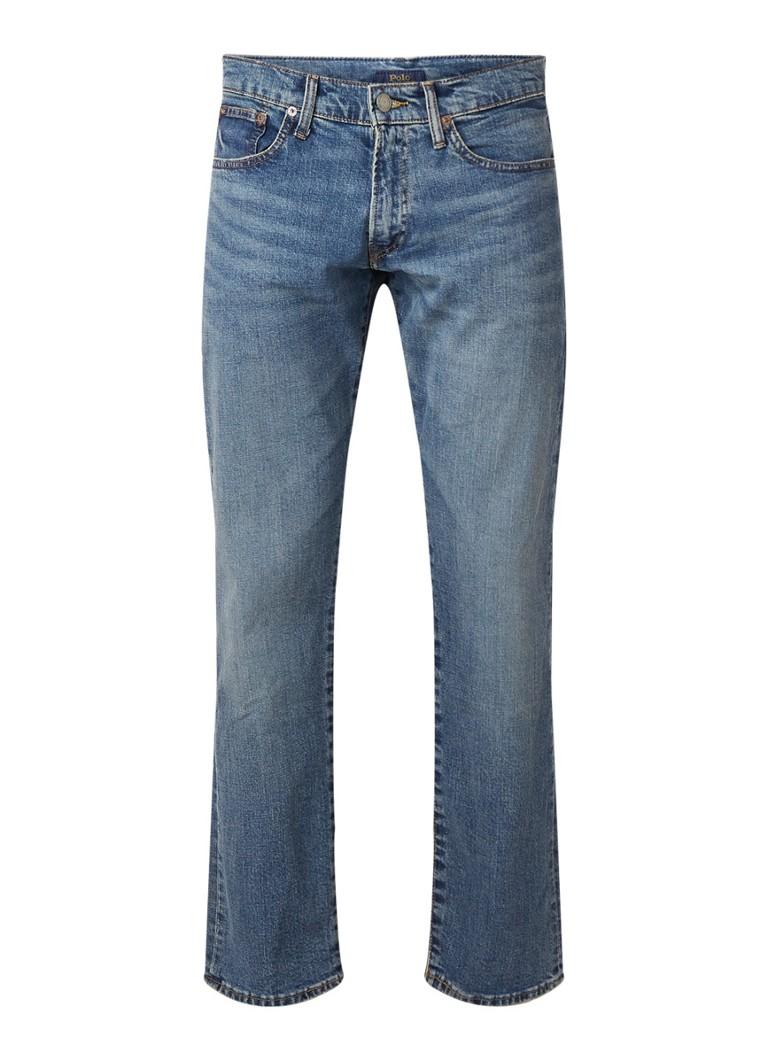 Ralph Lauren Straight fit cropped jeans met medium wassing