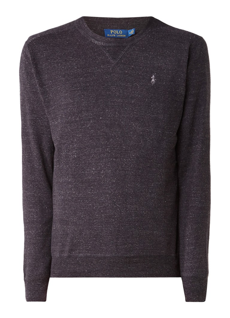 Truien en vesten Ralph Lauren Gemêleerde pullover van katoen Donkergrijs