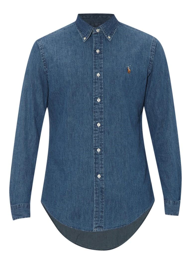 Polo Ralph Lauren Overhemd met button down kraag en merklogo