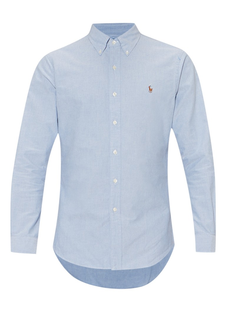 Ralph Lauren Slim fit chambray overhemd