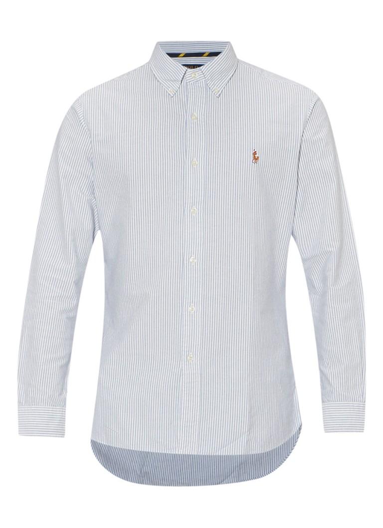 Polo Ralph Lauren Slim fit overhemd met strepen