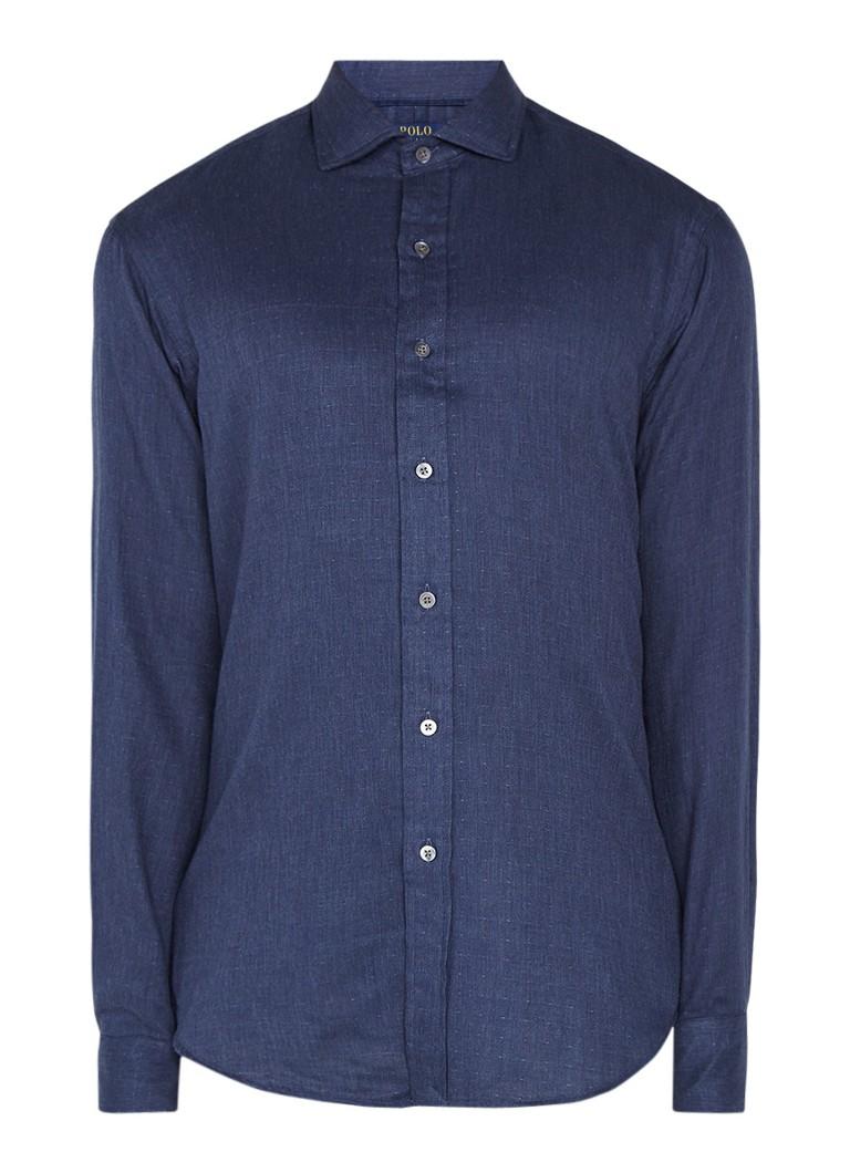 Ralph Lauren Overhemd van katoen in denim look