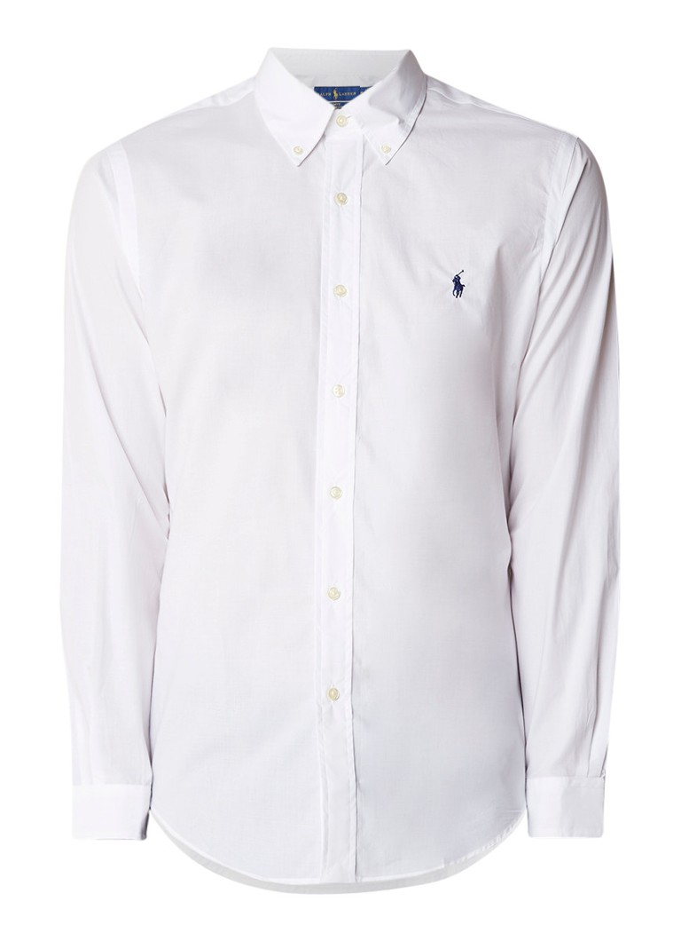 Ralph Lauren Slim fit button down-overhemd