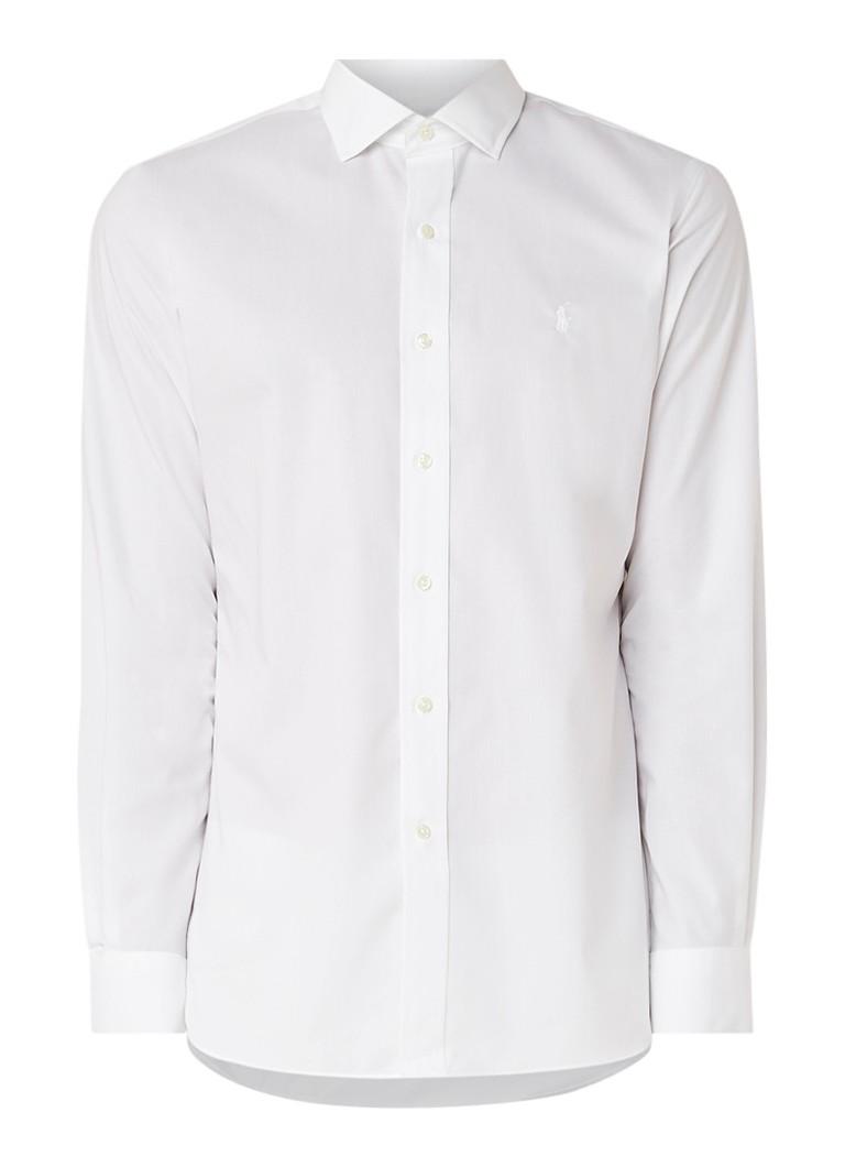 Ralph Lauren Slim fit strijkvrij overhemd met wide spread-kraag