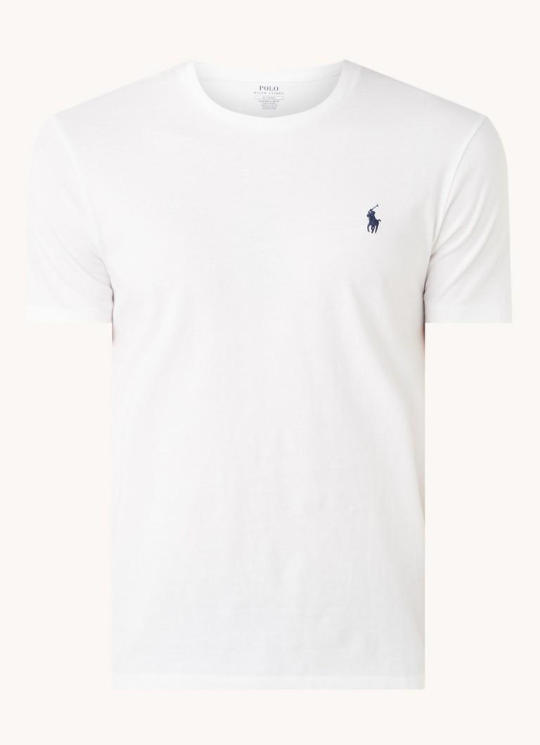 Ralph Lauren Basic T-shirt met logoborduring