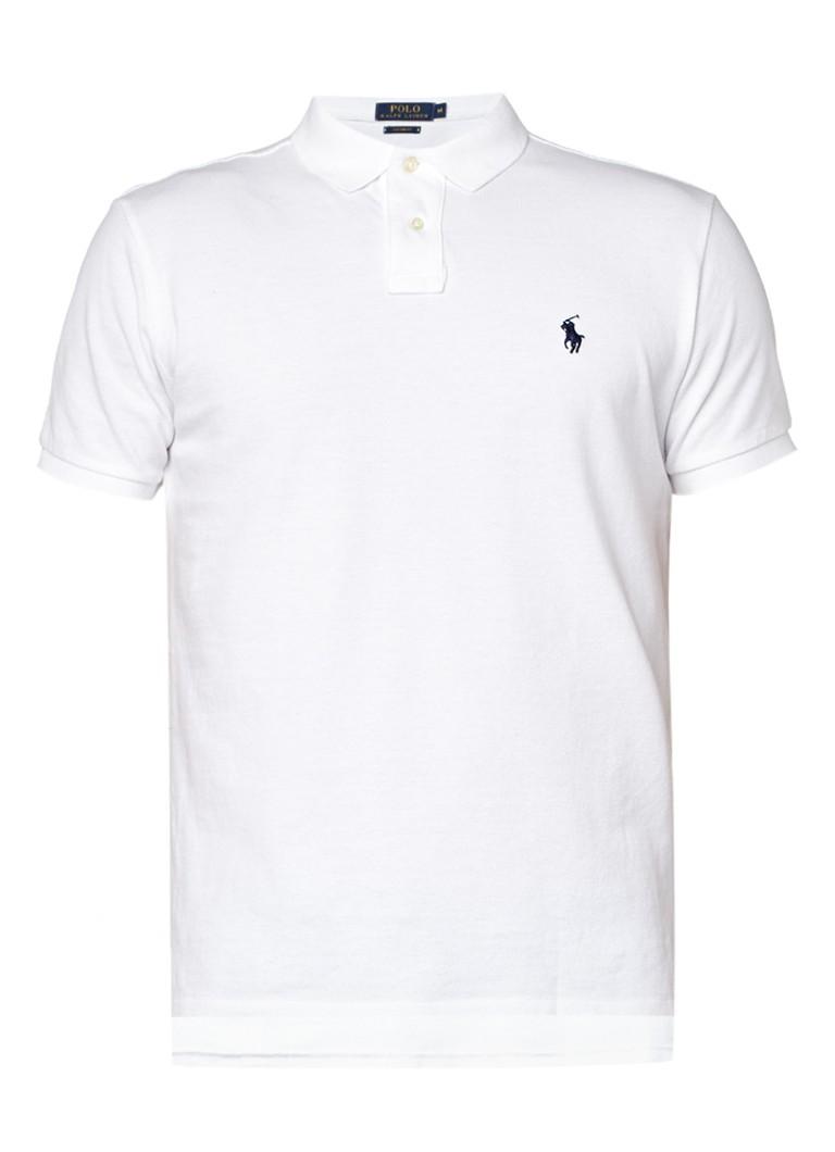 Polo Ralph Lauren CUSTOM FIT Poloshirt Wit