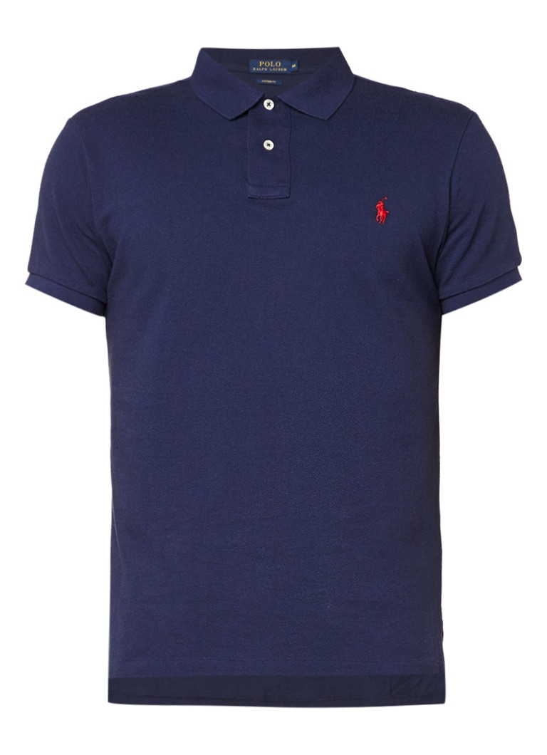 Polo Ralph Lauren Custom fit polo met korte mouwen