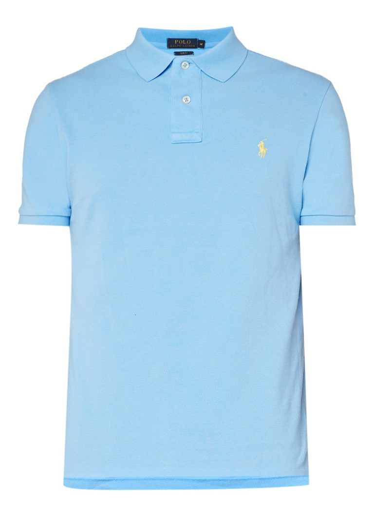 Polo Ralph Lauren Slim fit polo met korte mouwen