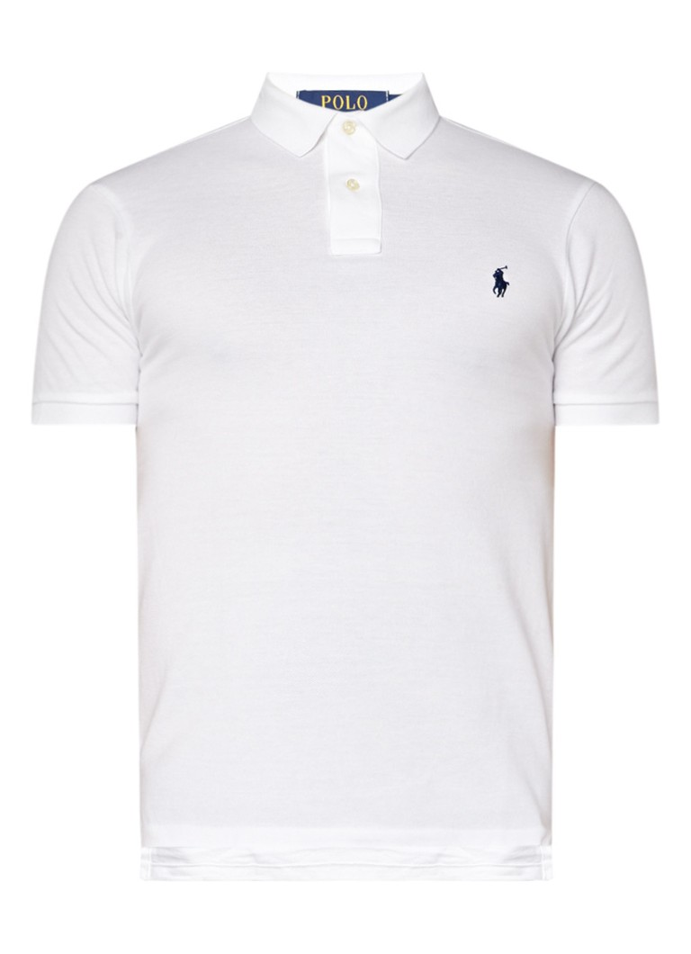 Ralph Lauren Slim fit polo met merkborduring