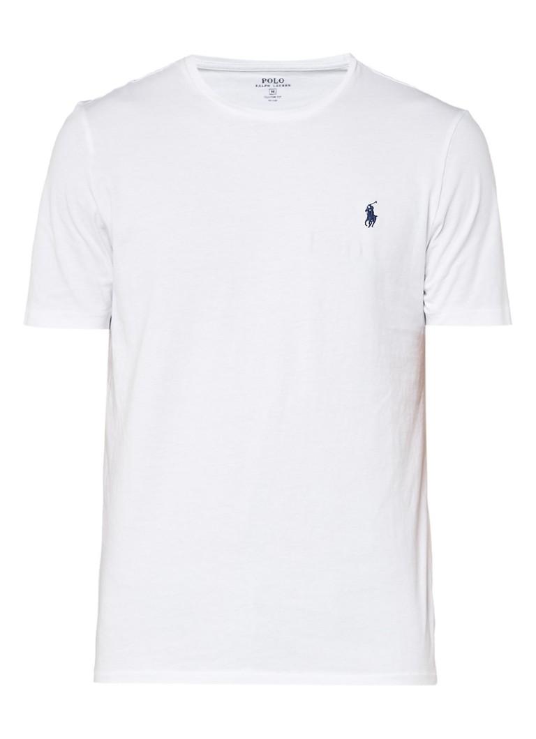 Polo Ralph Lauren Basic wit crew neck T-shirt