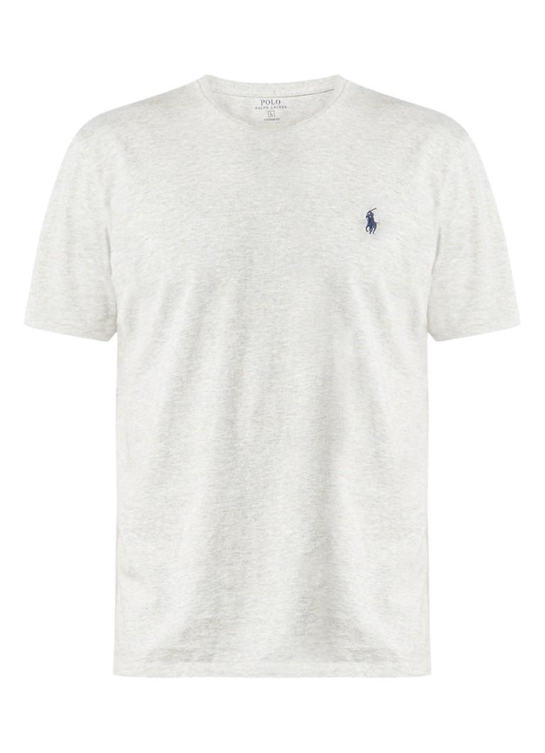 Polo Ralph Lauren Basic gemêleerd grijs crew neck T-shirt